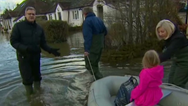 Economic impact of UK flooding