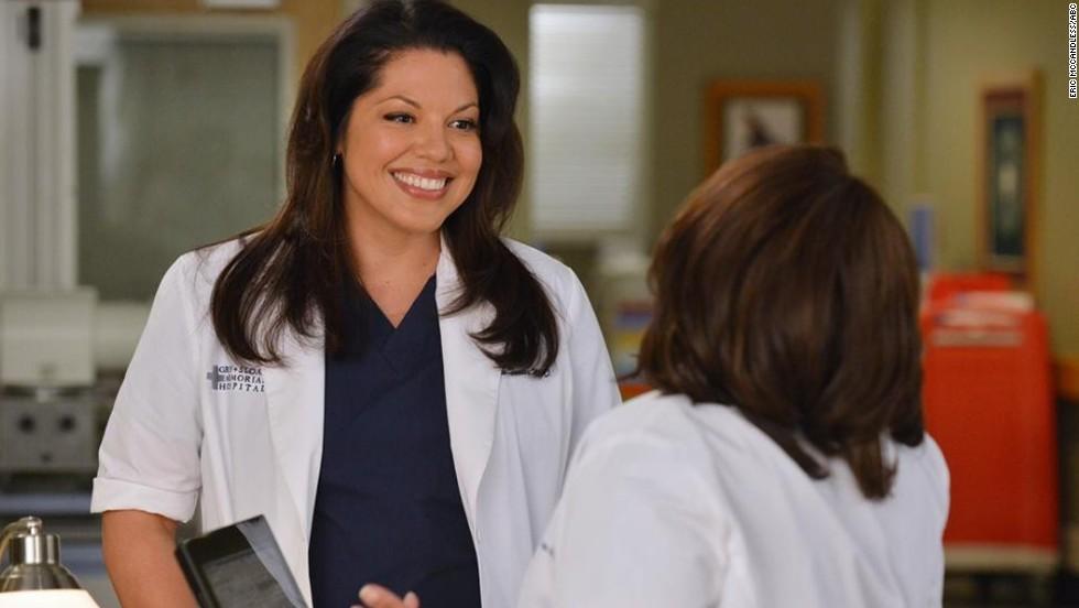 "Sara Ramirez as Dr. Callie Torres in ""Grey's Anatomy."""