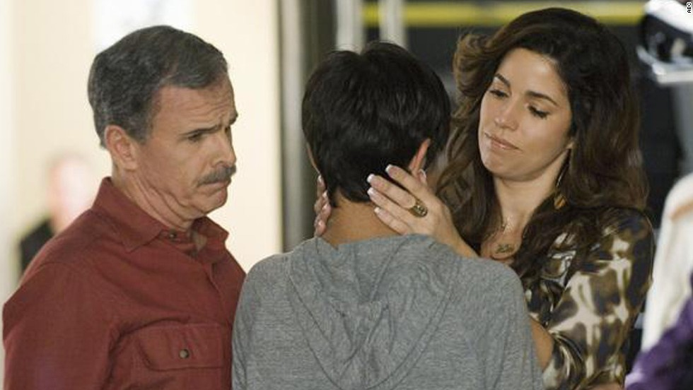 """Ana Ortiz as Hilda Suarez, who owns a salon, in """"Ugly Betty."""""""