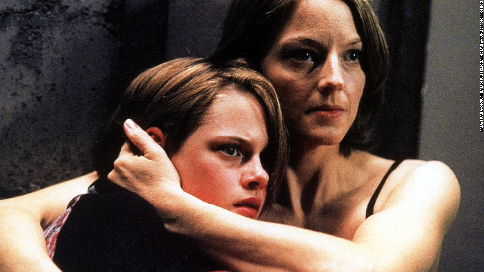 "A young Kirsten Stewart appeared in ""Panic Room"" with Jodie Foster in 2002. Stewart has come a long way, but still does frightened pretty well."