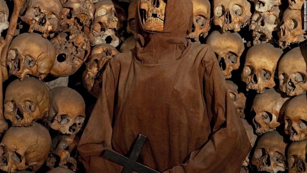 Visit the Capuchin ossuary beneath the church of Santa Maria della Concezione, where the bones of 4,000 monks decorate the crypt.
