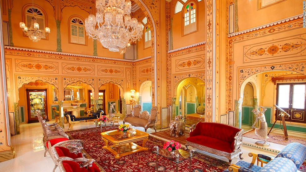 A night at the Shahi Mahal Suite at the Raj Palace Hotel in Jaipur, India costs $60,000. Currently, it is undergoing renovations, though when its finished, it will have a new 24,000-square-foot landscaped terrace garden and a three-sided infinity pool. The suite already boasts its own astrology room, library, bar and private theater.