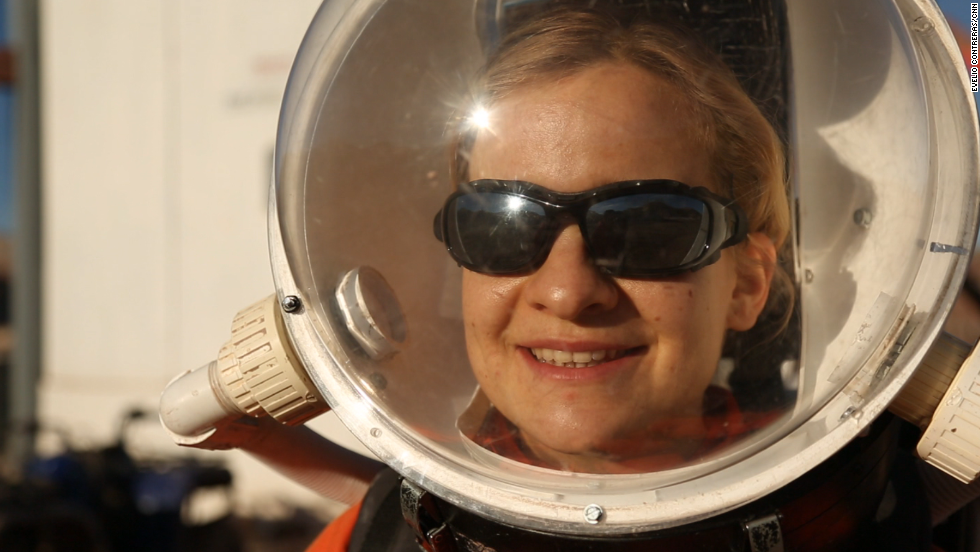 See what it's like to live on Mars