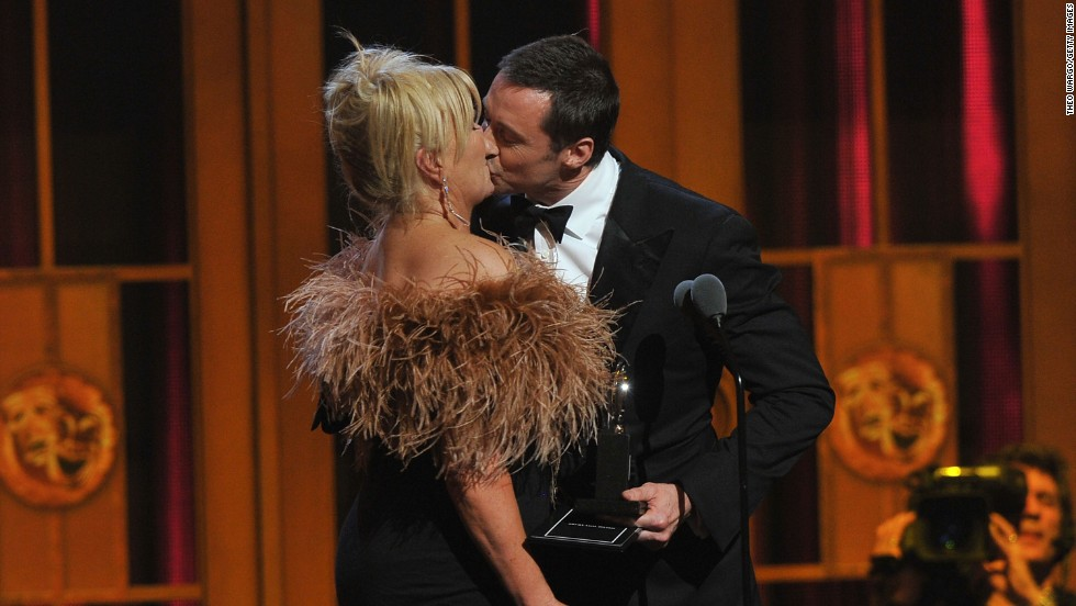 """<a href=""""http://www.goodhousekeeping.com/family/celebrity-interviews/hugh-jackman"""" target=""""_blank"""">Hugh Jackman on romancing Deborra Lee-Furness</a>: """"My No. 1 rule for romance is surprise. (Once) I pretended I was still on the set, and I called Deb and said, 'I'll be back late tonight.' ... And she got such a shock (that) I'd made reservations at our favorite lunch place. It was three hours before the kids finished school, and it was awesome because it was unplanned."""""""