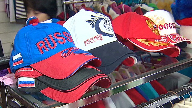 Shopping for Olympic souvenirs in Sochi