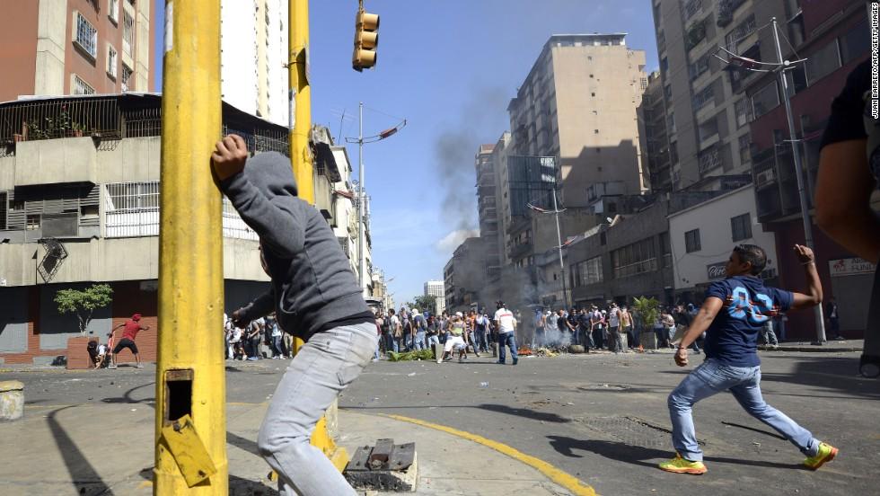 Hubo varios enfrentamientos y disturbios.