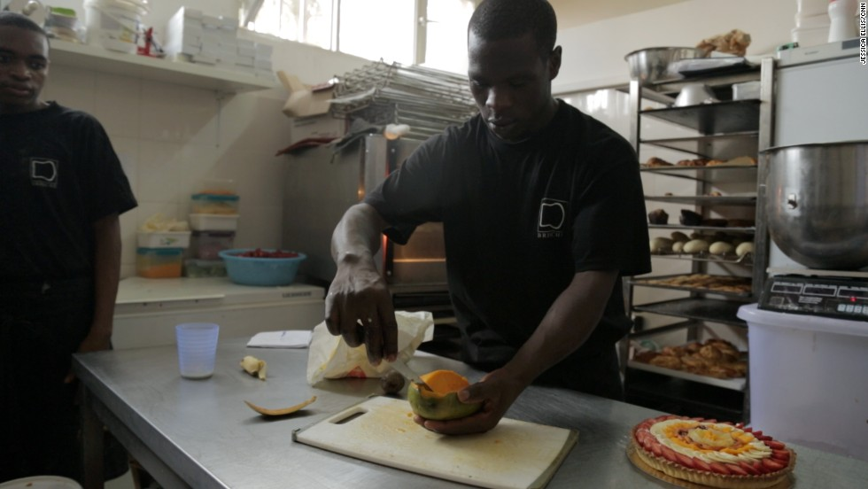 Kayobotsi is also planning to build a massive central kitchen so he can maintain quality control and supply all of his Brioche bakeries in the city.