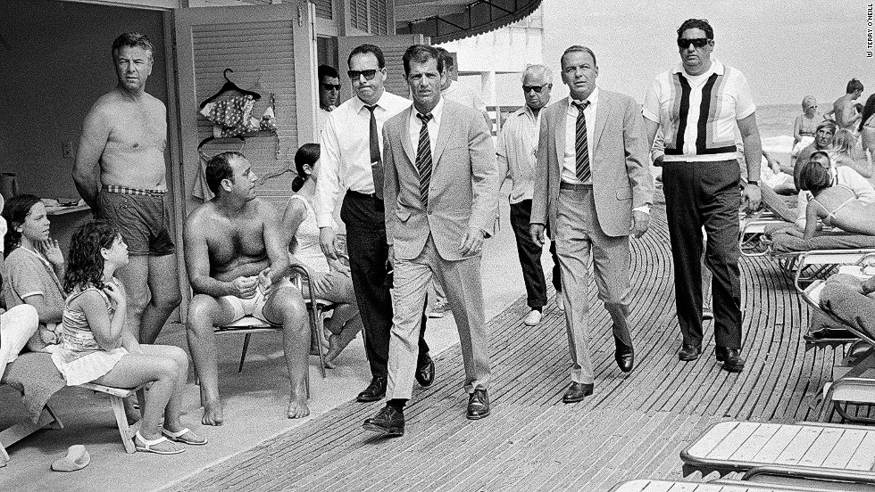 """O'Neill was friendly with Ava Gardener, the actress and ex-wife of Frank Sinatra. In 1968 she wrote a letter introducing O'Neill to the legendary crooner. """"I'm waiting for him to come on the set of a film and he walks around the corner with all these bodyguards,"""" O'Neill says. """"I gave him the letter and he said, 'Right, you're with me.' Then for the next three weeks he totally ignored me. After the three weeks I realized he'd given me everything he could possibly give me. It was fantastic. It was a lesson about being there and getting in there and trying to stay out of people's way."""""""