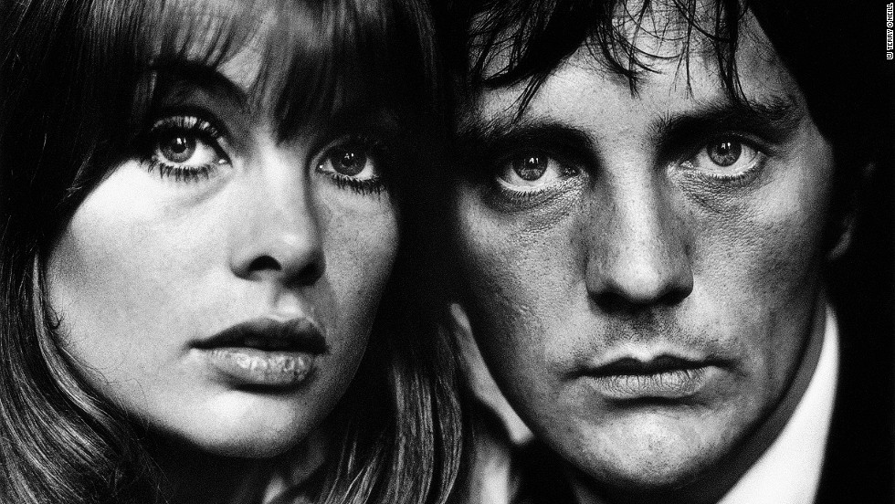 "In 1963 editors commissioned O'Neill to photograph English actors Jean Shrimpton and Terence Stamp for a feature on ""Faces of the 60s."" <br /><br />""She was another great girl,"" he says. ""I really admired her because at the top of her career she chucked it, married a photographer and went down to live in Penzance."""