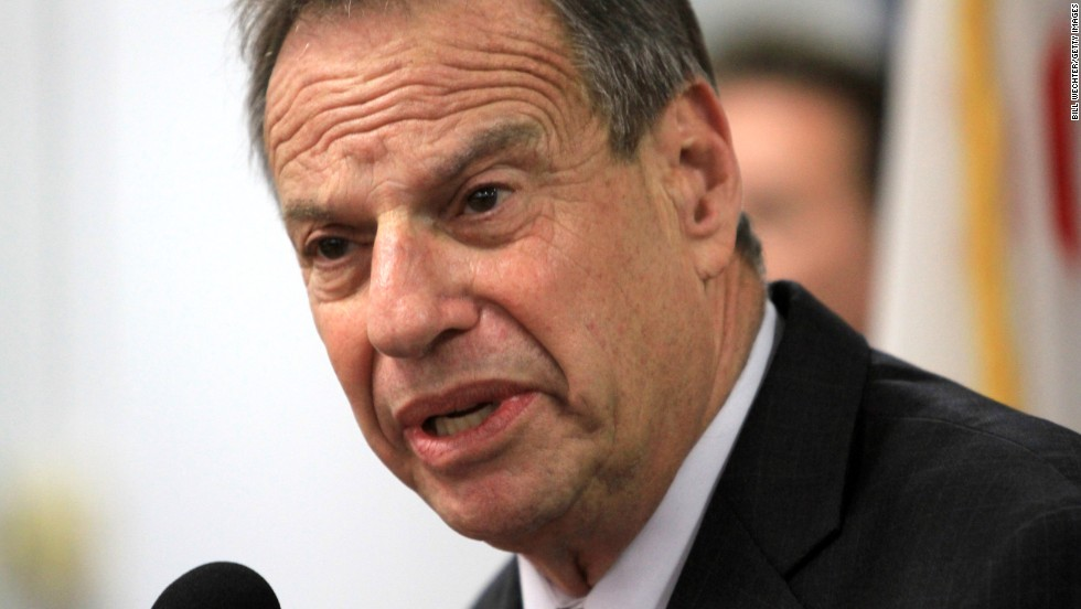 In December, former San Diego Mayor Bob Filner was sentenced to 90 days in home confinement, three years' probation and fines totaling about $1,500 for assaulting three women while in office. The 71-year-old pleaded guilty in October to forcibly kissing or grabbing three women at campaign events or at City Hall -- one a felony false imprisonment charge, the other two misdemeanor battery charges. Filner entered the guilty plea under a deal with prosecutors. The three women were among 19 who accused him of offensive behavior during his tenure as mayor and as a congressman.
