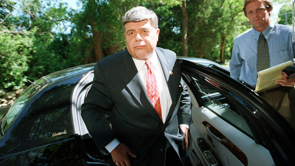 "Former Providence, Rhode Island, Mayor Vincent ""Buddy"" Cianci was convicted of corruption in the summer of 2002. He was mayor of Providence for parts of four decades before he was sentenced to five years and four months in prison as part of an FBI investigation into corruption at City Hall. Speaking in court before his sentencing, Cianci maintained his innocence, said he loved the city that he had dedicated himself to and had never meant to do anything wrong. Before announcing the sentence, U.S. District Judge Ernest Torres said this is ""a sad day for Providence."" He said Cianci had ""rare vision and boundless energy"" and had ""played a great role in the renaissance of the city."" A federal appeals court later vacated the prison sentence and ordered that he be resentenced."