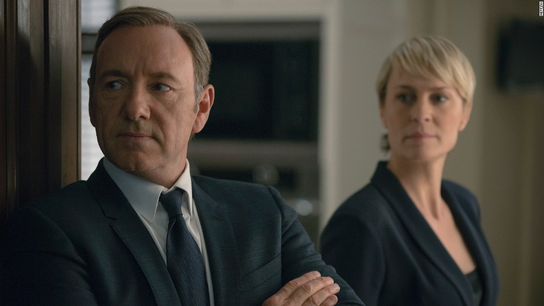 """<strong>Best actor in a TV series -- drama:</strong> Kevin Spacey, """"House of Cards"""""""
