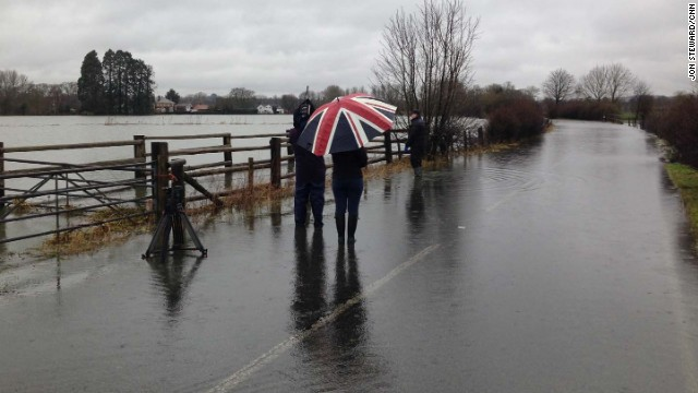 Weekend forecast bleak for UK towns
