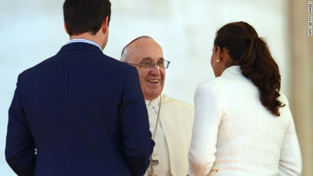 Valentine's Day advice from Pope Francis