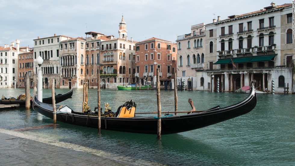 Get lost with your sweetheart in the hidden walkways of Venice or a take a gondola ride to explore this town the way Cupid intended.