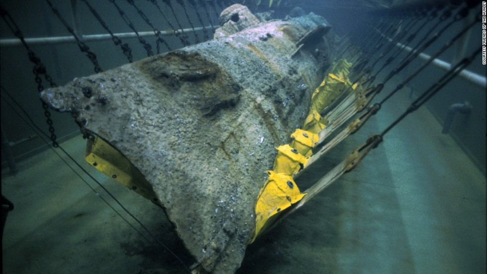 For nearly 14 years, scientists, historians and a genealogist have studied the first submarine to sink an enemy vessel. The H.L. Hunley did just that 150 years ago, February 17, 1864, during the American Civil War.