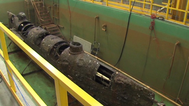 2013: New evidence in Hunley sinking