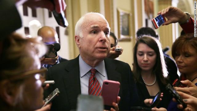 McCain: Freed prisoners worked with al Qaeda