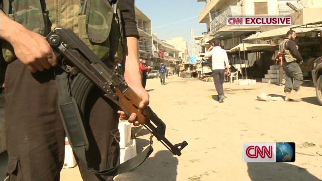 A rare look inside Syria