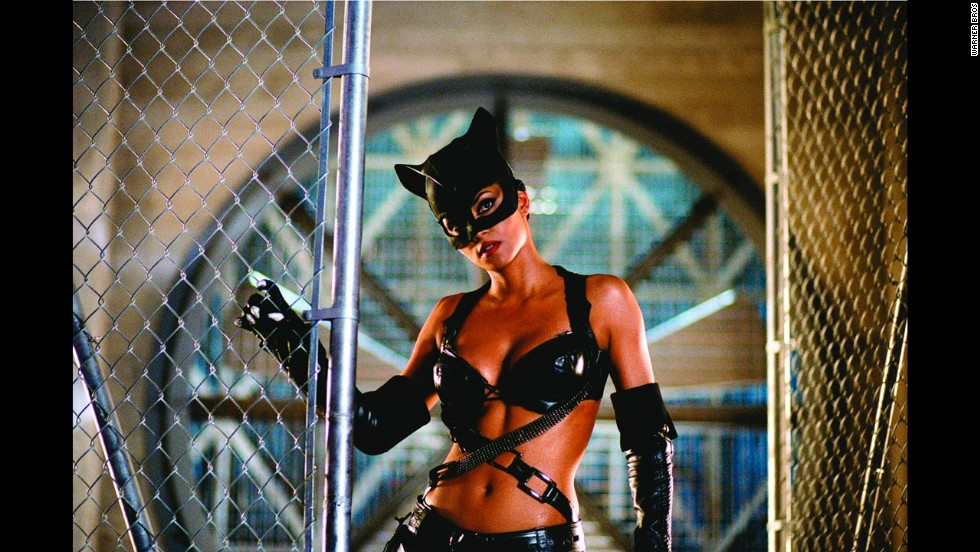 "Halle Berry becomes the first person to go from winning an Oscar (for ""Monster's Ball"") to winning a Razzie for ""Catwoman,"" which took  worst picture in 2005."