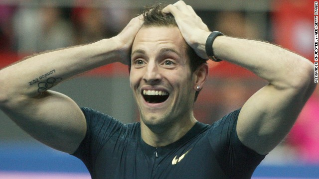 Renaud Lavillenie can't quite believe he broke Sergey Bubka's longstanding pole vault world record.
