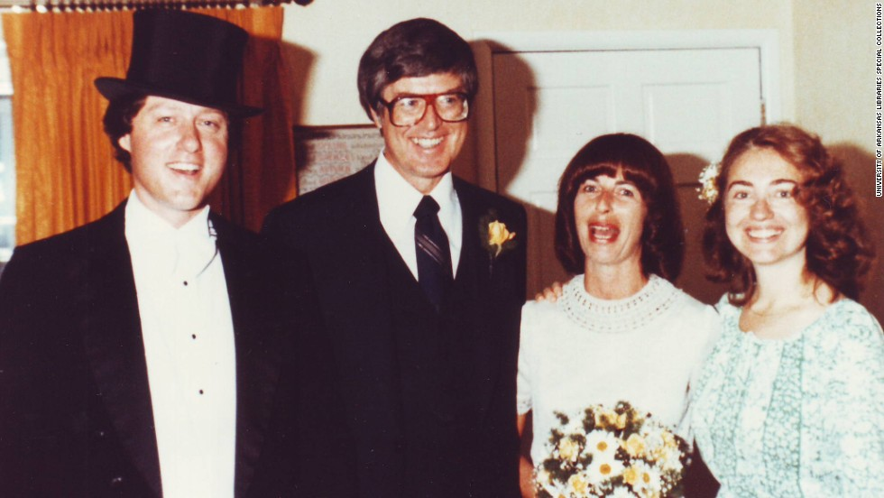 "Bill Clinton as Arkansas governor officiated Jim and Diane Blair's 1979 wedding and Hillary Clinton was ""best person."" Click through the images for a look into political science professor Diane Blair's relationship with the Clintons:"