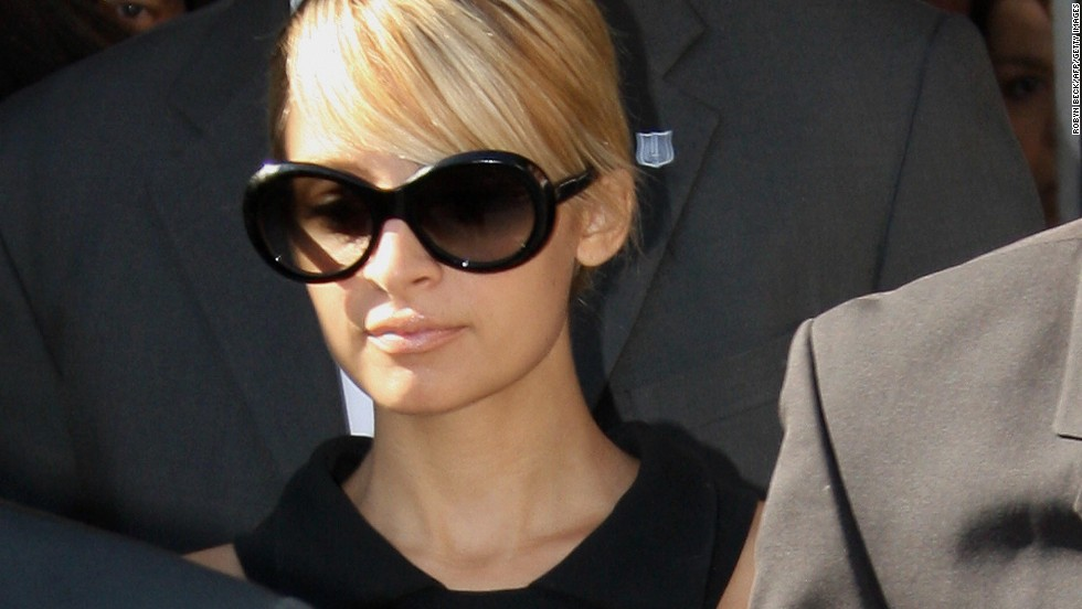 Nicole Richie has transformed from Paris Hilton's bestie to a wife, mother and fashionista who does lots of charity work. Things were different in July 2007 when she pleaded guilty in a Glendale, California, court to driving under the influence of drugs after a 2006 incident. She was sentenced to 90 hours in jail and three years probation. The judge noted Richie was lucky no one was killed when she drove the wrong way down a Los Angeles freeway.