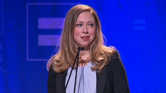 Chelsea Clinton speaks at LGBT event