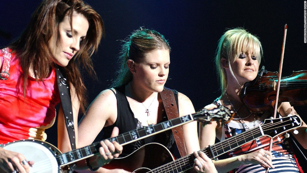 """<a href=""""http://www.cnn.com/2003/SHOWBIZ/Music/03/14/dixie.chicks.reut/"""">Lots of country radio stations refused to play tunes by the Dixie Chicks</a> in March 2003 after lead singer Natalie Maines said during a concert in London that she was """"ashamed the President of the United States is from Texas."""""""