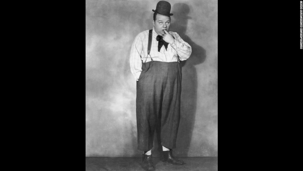 "Comedic actor Fatty Arbuckle was <a href=""http://history1900s.about.com/od/famouscrimesscandals/a/fattyarbuckle.htm"" target=""_blank"">accused of manslaughter in the brutal death</a> of Virginia Rappe in November 1921 after a party the pair attended. The first trial ended in a hung jury, as did the second. Though Arbuckle was acquitted in the third trial, the scandal destroyed his career."
