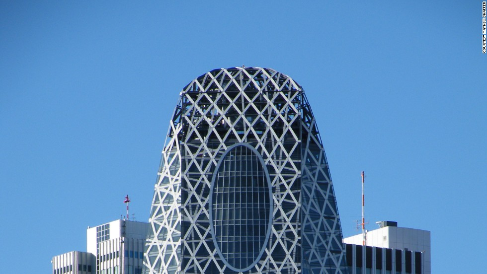 "The building has been nicknamed ""The Giant Cocoon."" Home to three different educational institutions in Tokyo (including a fashion school and a medical college), it's the second-tallest educational building in the world, surpassed only by Lomonosov Moscow State University Main Building. <strong>Architects:</strong> Tange Associates."