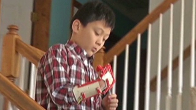 3-D printer helps boy get hand