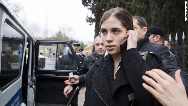 Ex-Pussy Riot members detained, released