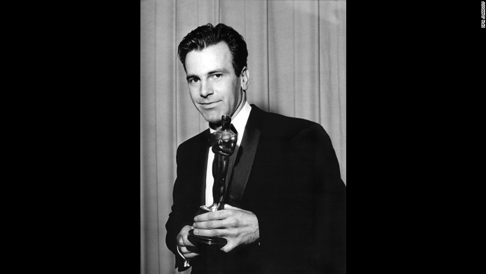"<a href=""http://www.cnn.com/2014/02/01/showbiz/actor-maximilian-schell-dies/"">Maximilian Schell</a> won the best actor Oscar over his ""Judgment at Nuremberg"" co-star Spencer Tracy. Schell had previously portrayed the character of German lawyer Hans Rolfe in a television version of ""Judgment."""