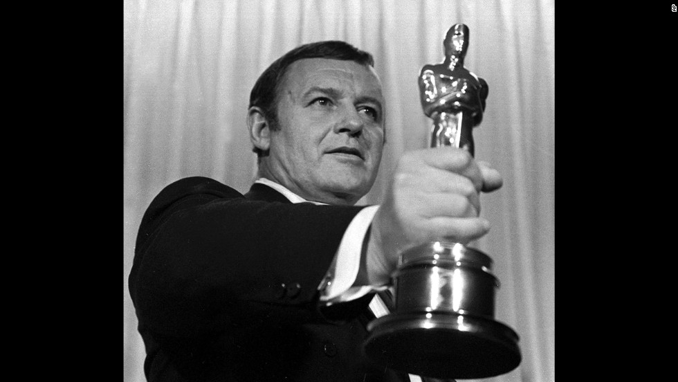 "Sidney Poitier may have been the star of the detective drama ""In the Heat of the Night,"" but he was snubbed in the Oscars race. It wasn't that academy voters didn't love the movie though: ""In the Heat of the Night"" won best picture as well as best actor for Poitier's co-star, Rod Steiger, here holding his Oscar at the 1968 ceremony."
