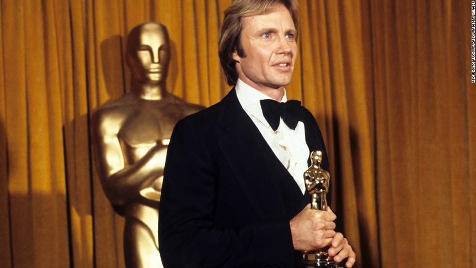 "Jon Voight had been nominated for a best actor Oscar once before for 1969's ""Midnight Cowboy,"" but it was the Vietnam War drama ""Coming Home"" that finally earned him the honors."