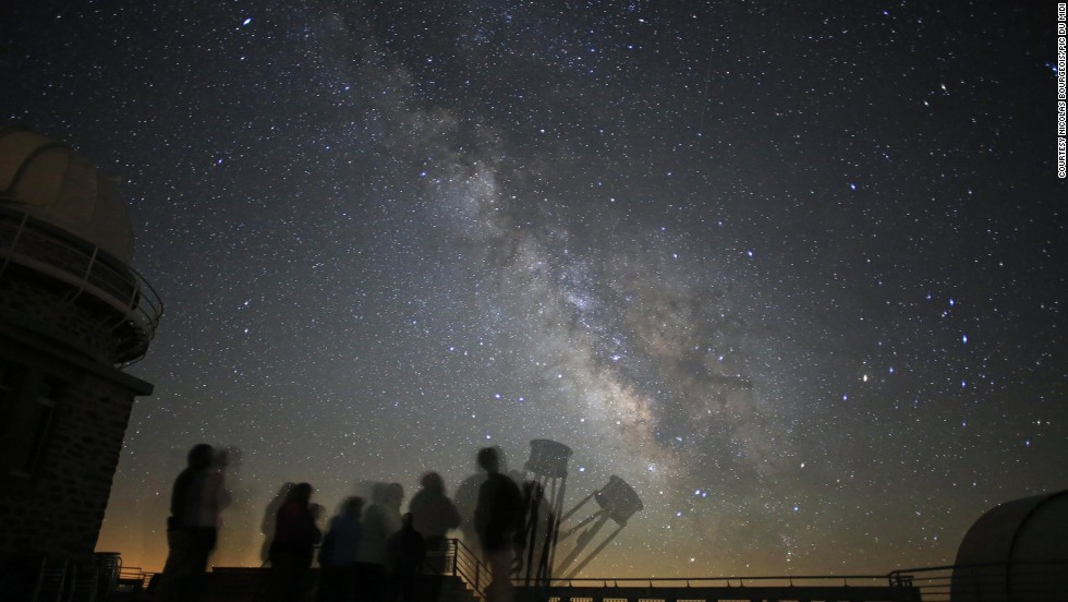 "It's impossible to miss the Milky Way stretching across the sky from this French reserve. ""Starry Night"" programs are available on special astronomical occasions in the reserve, where an astronomer acts as your guide to the cosmos. You can use viewing equipment on the terraces."