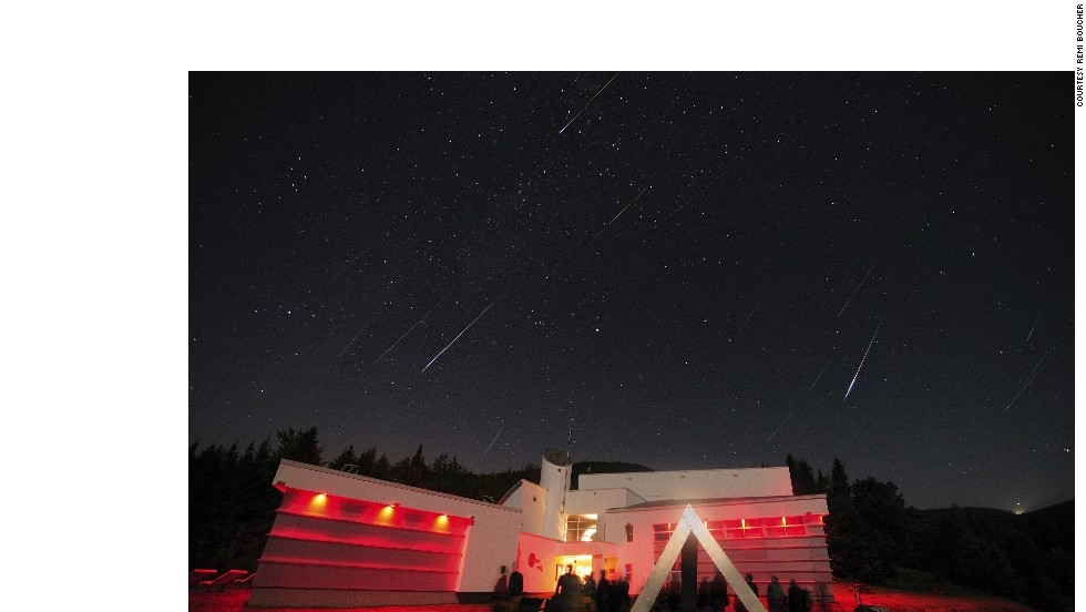 "The annual <a href=""http://www.astrolab-parc-national-mont-megantic.org/en/activities.perseids.htm"" target=""_blank"">Perseids Event</a> at Mont-Mégantic is dedicated to the meteor shower that can be seen every August. Around <a href=""http://solarsystem.nasa.gov/planets/perseids.cfm"" target=""_blank"">50-100 ""fireballs""</a> can be seen per hour across the sky in Quebec, Canada."