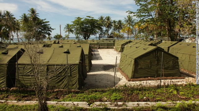 One person was killed and dozens injured after unrest broke out overnight at an Australian detention center for asylum seekers on a remote island in Papua New Guinea.