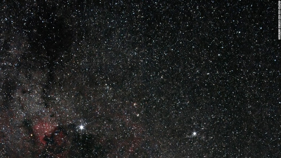 The Northern Cross is part of the constellation of Cygnus. This image was captured in Observatory Park, Geauga Park District in Ohio, but the constellation can be clearly seen at Clayton Lake Dark Sky Park in New Mexico during the summer too.