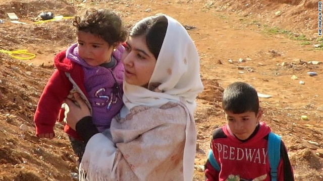 Malala: We risk losing Syria generation