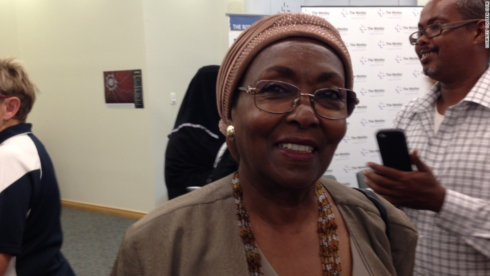 Edna Adan Ismail accompanied Ayan to Brisbane for surgery, bringing an end to an 11-year campaign to get help for the young Somali woman.