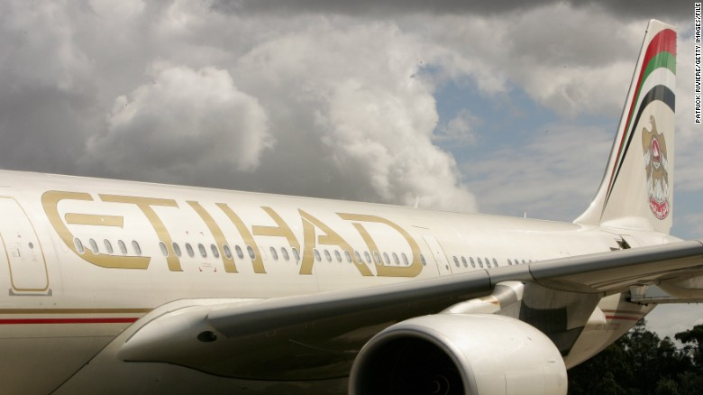 Man sues Etihad over 'injuries' from sitting next to obese passenger