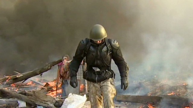 Death toll rising in Kiev protests