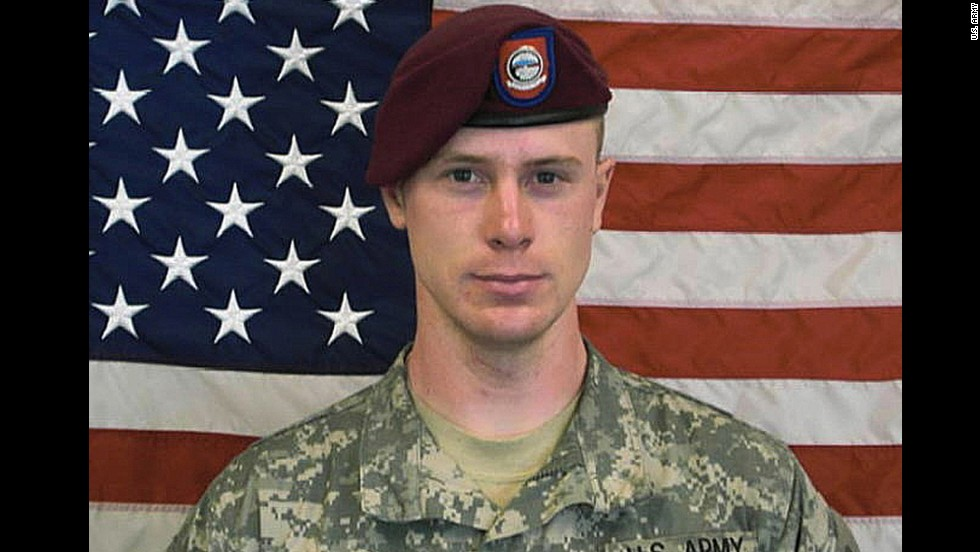 "This undated image provided by the U.S. Army shows Sgt. Bowe Bergdahl, who had been held by insurgents in Afghanistan since 2009. The White House <a href=""http://www.cnn.com/2014/06/01/us/bergdahl-transferred-guantanamo-detainees/index.html"">announced Bergdahl's release</a> on May 31, 2014. Bergdahl was released in exchange for five senior Taliban members held by the U.S. military. In March, <a href=""http://www.cnn.com/2015/03/25/politics/bowe-bergdahl-charges-decision/index.html"" target=""_blank"">the U.S. military charged Bergdahl </a>with one count each of ""Desertion with Intent to Shirk Important or Hazardous Duty,"" and ""Misbehavior Before The Enemy by Endangering the Safety of a Command, Unit or Place."""