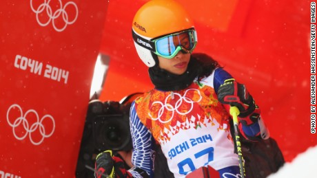 Mae was representing her father's homeland of Thailand under his surname Vanakorn, and became the nation's first-ever female skier at the Olympics.