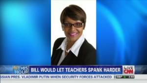 Kansas lawmaker pushes spanking bill