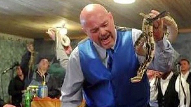 Funeral held for snake-handling pastor