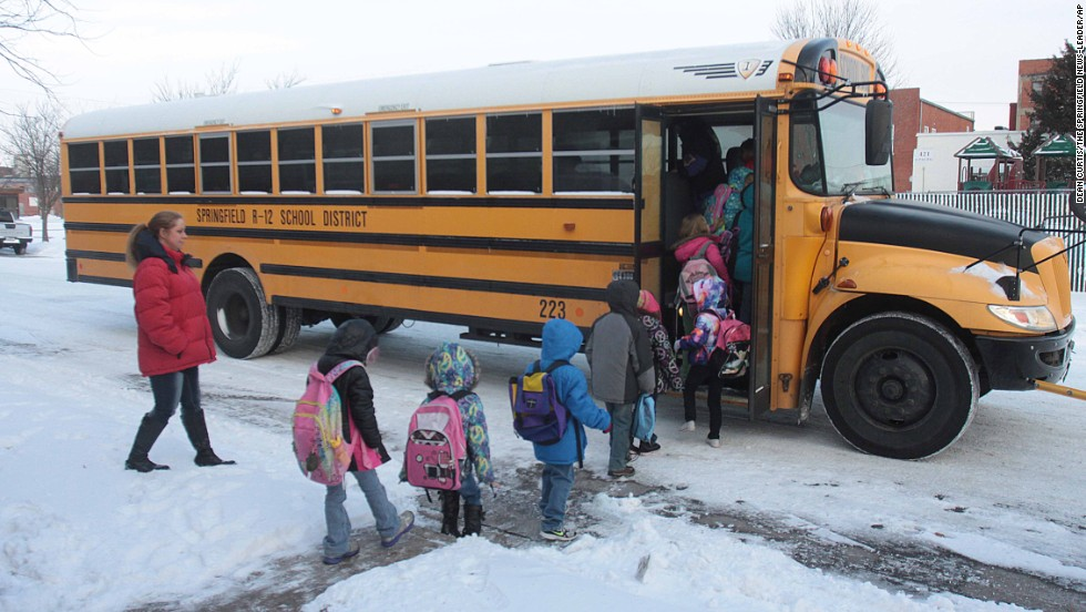 Many school districts around Springfield, Missouri, had high numbers of snow days. Schools build at least six snow days into their calendars, but districts like Fair Grove schools turned holidays and teachers' professional development days into instructional days.