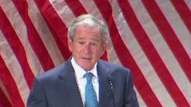 Bush on the 1% we should all support